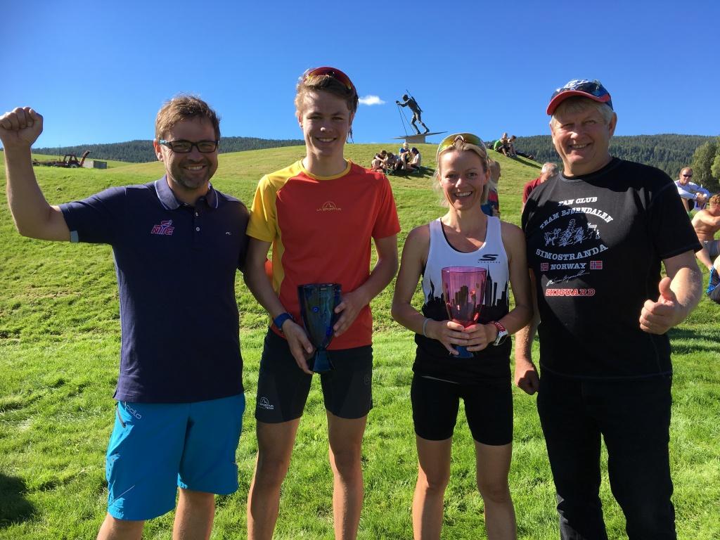 Vinnere av Øle Einar Bjørndalens Motbakkeløp 2016